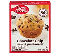 Betty Crocker Muffin & Quick Bread Mix Chocolate Chip - 14.75 Oz
