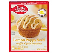 Betty Crocker Muffin & Quick Bread Mix Premium Lemon-Poppy Seed - 14.5 Oz