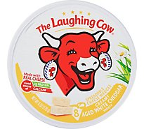 The Laughing Cow Creamy White Cheddar Flavor Cheese Spread 6 oz