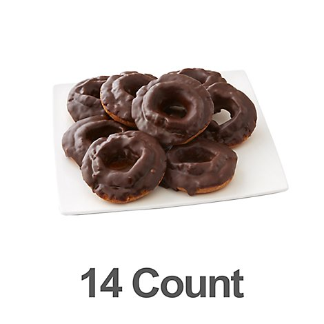 Bakery Donut Cake Old Fashion Chocolate 14 Count - Each