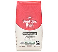 Seattles Best Coffee Coffee Ground Medium-Dark Rich Signature Blend No. 4 - 12 Oz