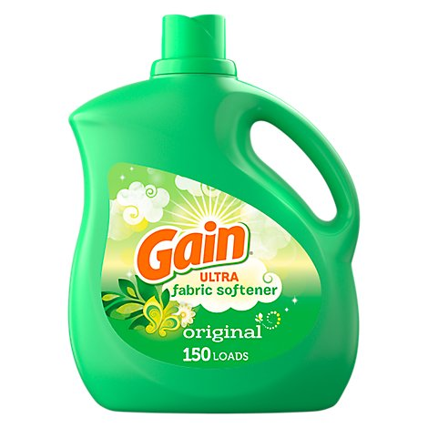 Gain Ultra Liquid Fabric Softener Original - 129 Fl. Oz..