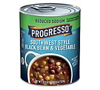 Progresso Soup Reduced Sodium Southwest Style Black Bean & Vegetable - 18.5 Oz