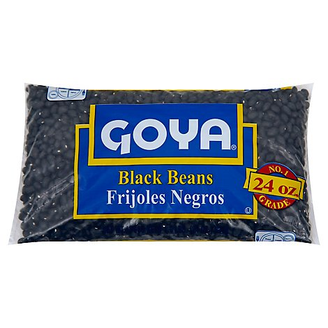 Goya Beans Black Bag - 24 Oz