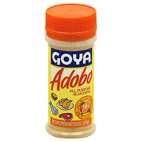 Goya Seasoning All Purpose Adobo With Bitter Orange Jar - 8 Oz
