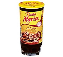 DONA MARIA Sauce Mexican Adobo Jar - 8.25 Oz
