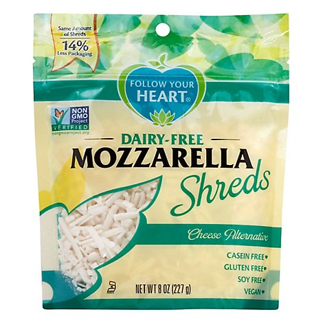 Follow Your Heart Vegan Gourmet Shreds Mozzarella - 8 Oz
