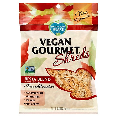 Follow Your Heart Vegan Gourmet Shreds Fiesta Blend - 8 Oz