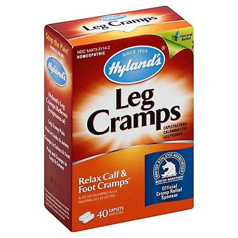 Hylands Leg Cramps Caplets - 40 Count