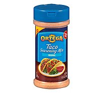 Ortega Seasoning Mix Taco Canister - 6.5 Oz