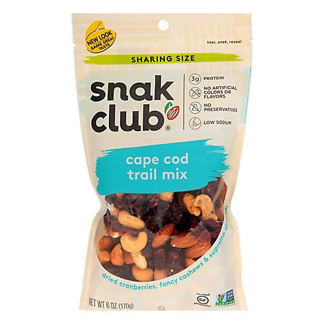 SnakClub Super Value Trail Mix Cape Cod - 6.00 Oz