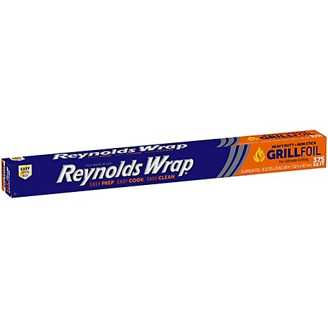 Reynolds Aluminum Foil Heavy Duty Grill 37.5 Sq. Ft. - Each