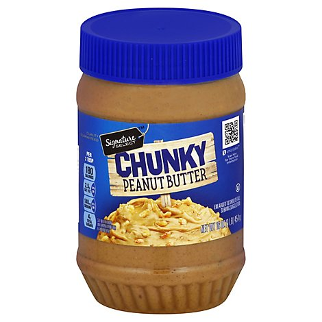 Signature SELECT Peanut Butter Chunky - 16 Oz