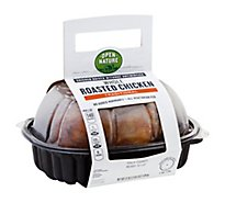 Open Nature Whole Roasted Chicken Hot - Each
