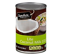 Signature SELECT Canned Coconut Milk Light - 13.5 Fl. Oz.