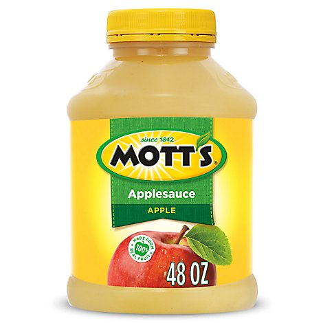 Motts Applesauce Original Jar - 48 Oz