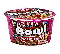 Maruchan Bowl Ramen Noodles with Vegetables Hot & Spicy with Shrimp - 3.32 Oz