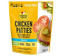 Foster Farms Chicken Patties - 28 Oz