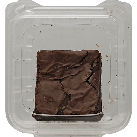 Bakery Brownie 8X8 Chocolate Fudge Iced - Each