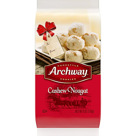 Archway Cookies Specialties Cashew Nougat - 6 Oz
