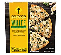 California Pizza Kitchen Pizza Crispy Thin Crust White Frozen - 13.5 Oz