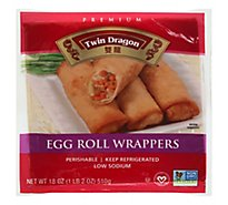 Twin Dragon All Natural Wrappers Egg Roll - 18 Oz
