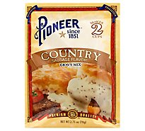 Pioneer Brand Gravy Mix Country Sausage Flavor - 2.75 Oz