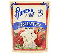 Pioneer Brand Gravy Mix Country - 2.75 Oz