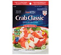 Trans Ocean Crab Classic Flake Style - 8 Oz