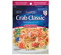 Trans Ocean Crab Classic Chunk Style - 8 Oz