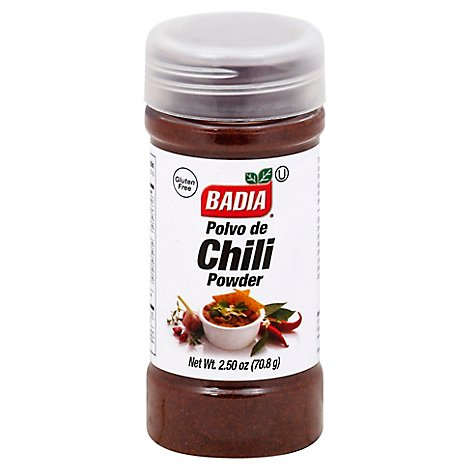 Badia Chili Powder Bottle - 2.5 Oz