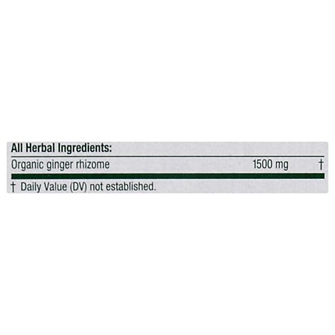 Traditional Medicinals Herbal Tea Organic Ginger - 16 Count