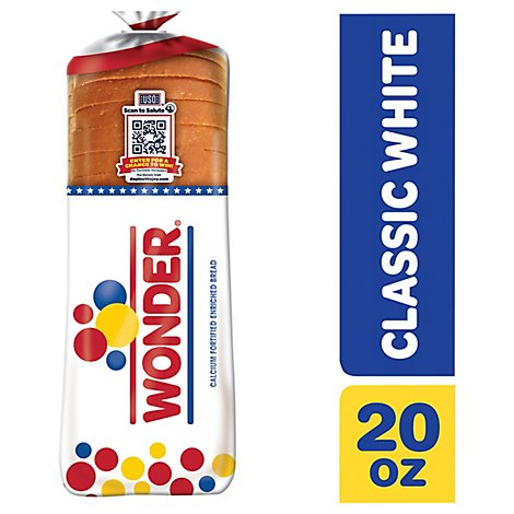 Wonder Bread Classic White Round Top - 20 Oz