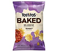 TOSTITOS Tortilla Chips Scoops Oven Baked - 6.25 Oz
