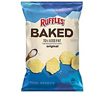 Ruffles Potato Crisps Oven Baked Original - 6.25 Oz