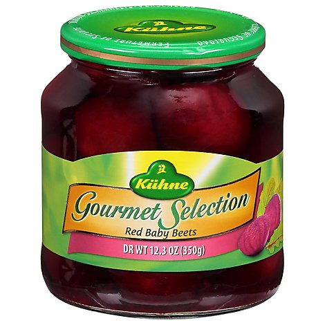 Kuhne Gourmet Selection Beets Red Baby - 19.6 Oz