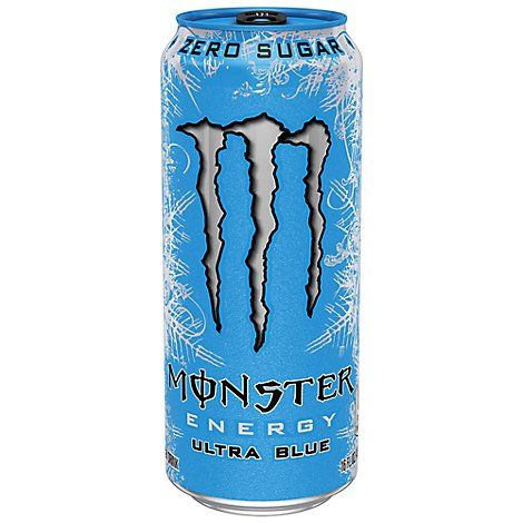 Monster Energy Drink Zero Sugar Ultra Blue - 16 Fl. Oz.