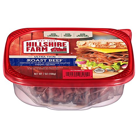 Hillshire Farm Ultra Thin Sliced Lunchmeat Roast Beef 7 Oz