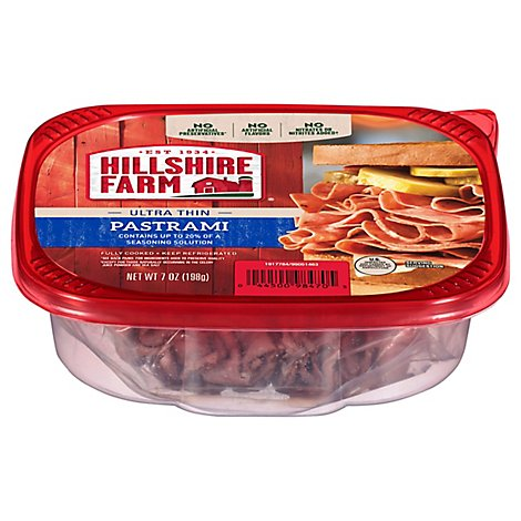 Hillshire Farm Ultra Thin Sliced Lunchmeat Pastrami - 7 Oz