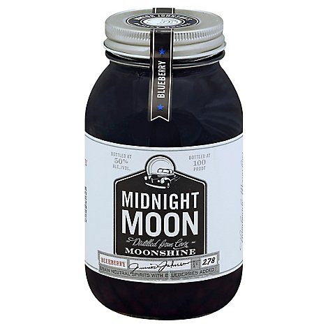 Midnight Moon Moonshine Blueberry 100 Proof - 750 Ml