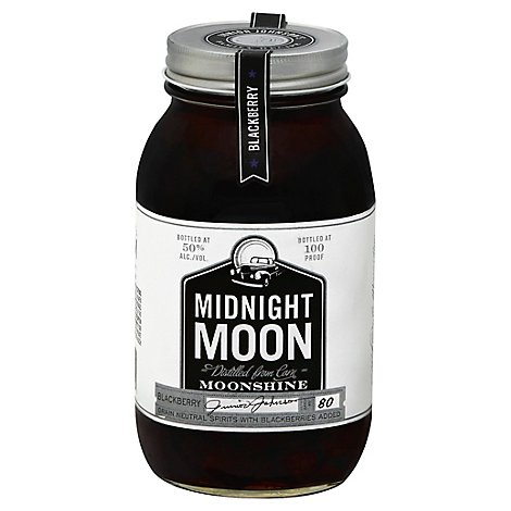 Midnight Moon Moonshine Blackberry 100 Proof - 750 Ml