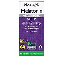 Natrol Advanced Sleep Melatonin 10mg - 60 Count