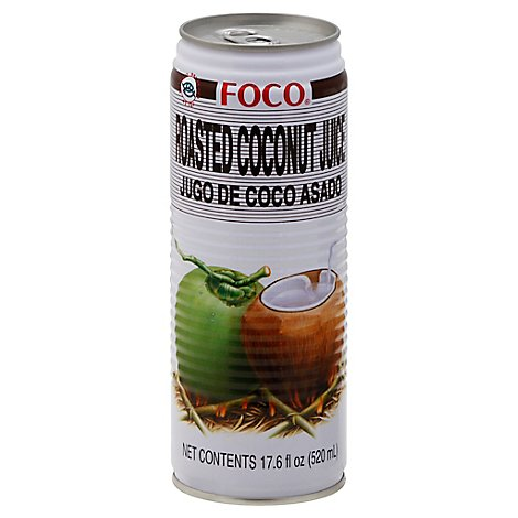Foco Roasted Coconut Juice - 17.6 Oz