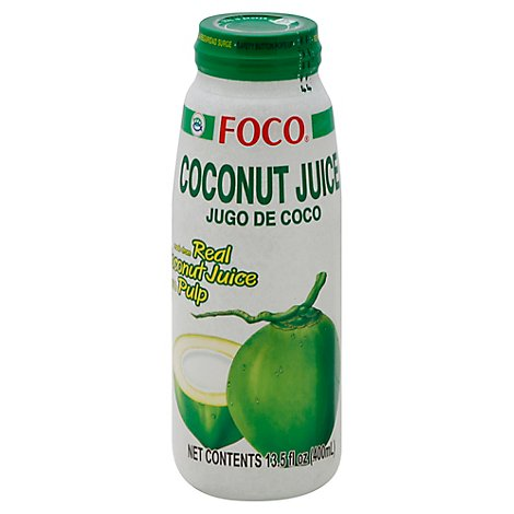 Foco Coconut Juice - 13.5 Oz