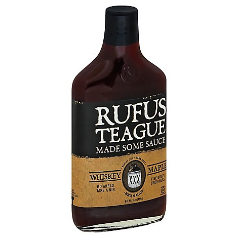 Rufus Teague Sauce Whiskey Maple - 16 Oz