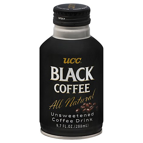 UCC Black Coffee - 9.73 Oz