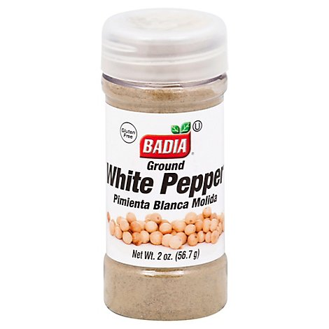 Badia White Pepper Ground - 2 Oz