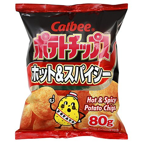 Calbee Hot Spicy Chips - 2.82 Oz