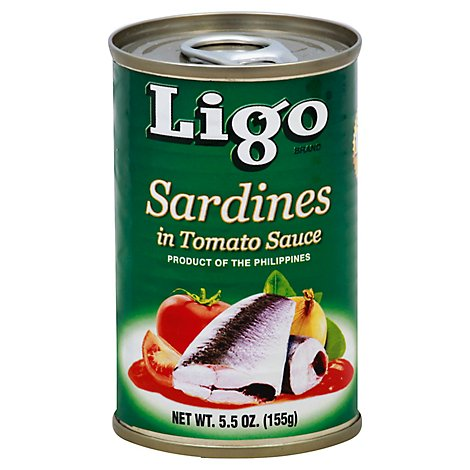 Ligo Sardines Can - 5.5 Oz