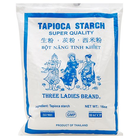 Three Ladies Tapioca Flour - 16 Oz